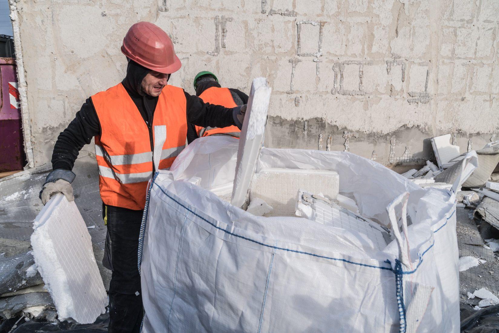 Auch HBCD-belastetes EPS soll künftig recycelbar sein. Foto: BASF