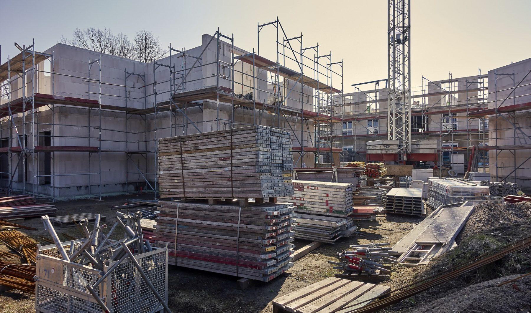 Die Bundesregierung plant eine Sonder-AfA zur Förderung des bezahlbaren Wohnungsbaus. Foto: Pixabay