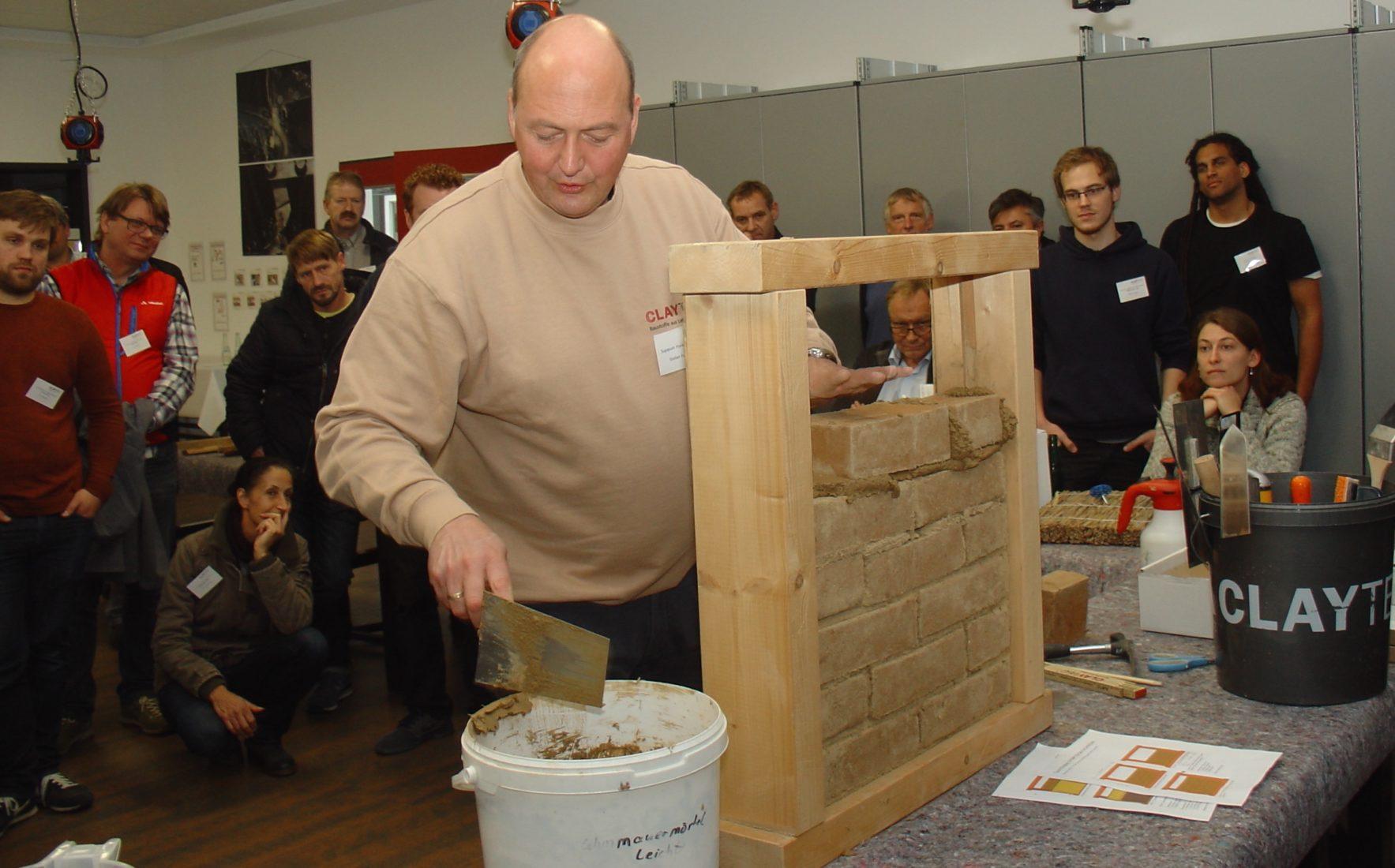 Das Symposium Fachwerk richtet sich an Architekten, Handwerker und Fachhändler. Foto: Claytec