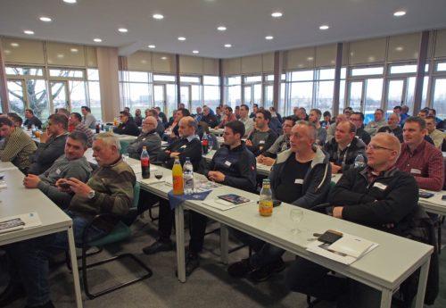 Wie hier bei den Gnetscher Tagen finden die Fachunternehmer-Seminare bundesweit an verschiedenen Standorten statt. Foto: Knauf