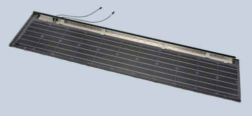 Die Premium-Module ersetzen in der Breite etwa sechs typische Dachsteine. Foto: Braas