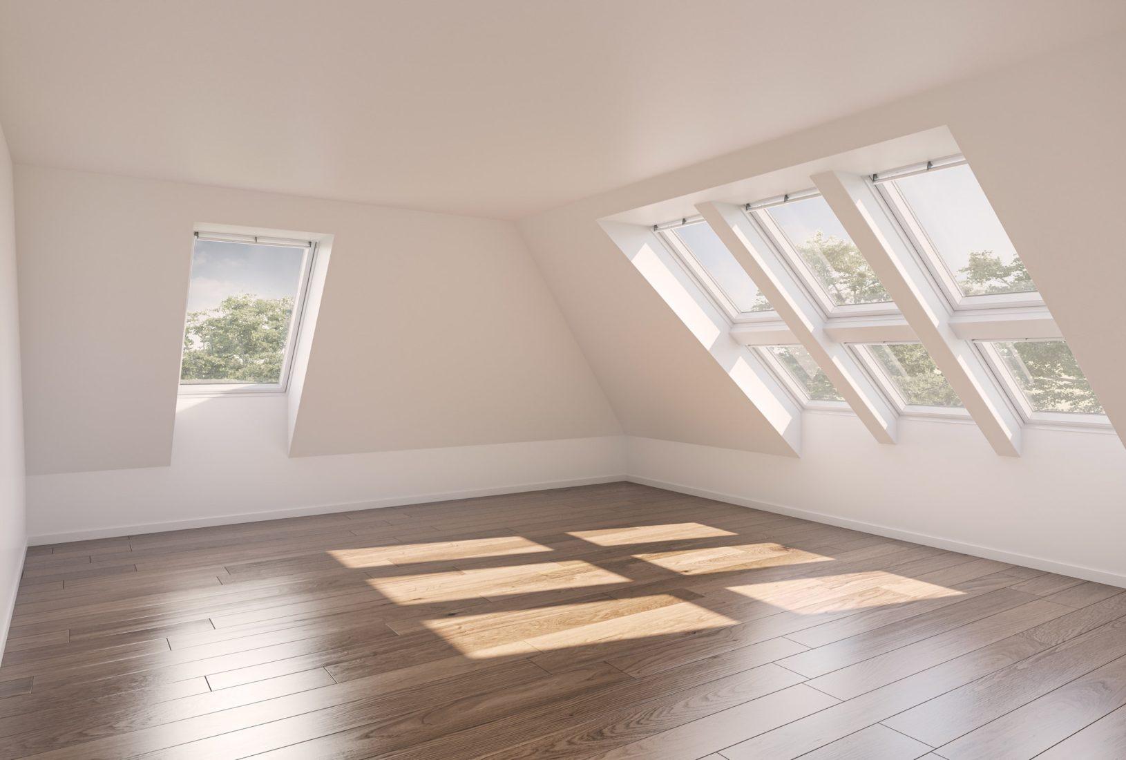 Dieser Raum verfügt definitiv über eine angemessene Tageslichtversorgung. Foto: Velux