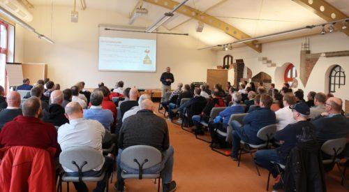Stefan Tessel zog beim Safety Day eine positive Bilanz. Fotos: Bauking GmbH