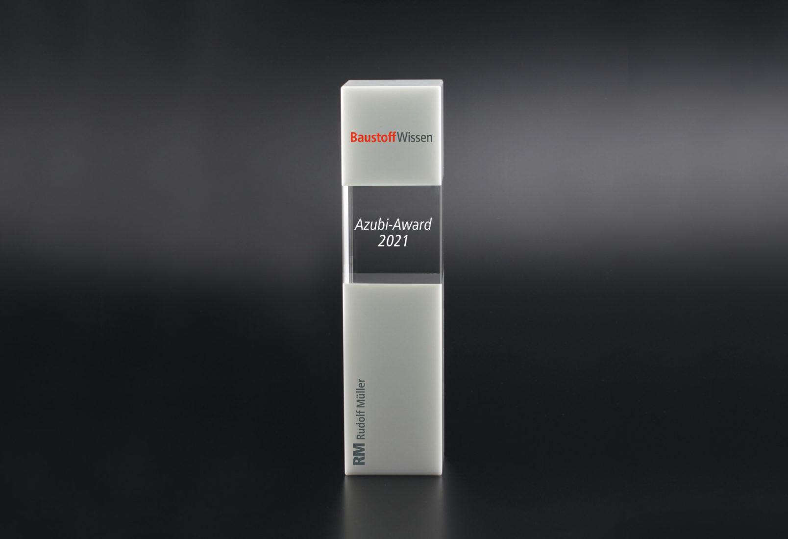 BaustoffWissen Azubi-Award 2021.
