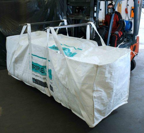 """Der """"Triple-Bag"""" fasst bis zu 3.000 Liter. Foto: ams Umweltschutz GmbH"""