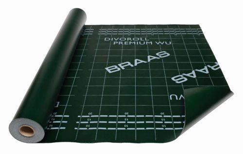 Diese beschichtete Bahn garantiert Regensicherheit sogar für flache Dächer bis zur Mindestdachneigung von 10°. Foto: Braas
