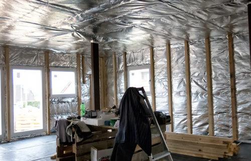 Im Innenbereich kommt ISUM MF 14 auch an Wand und Decke zum Einsatz. Foto: Finck & Co