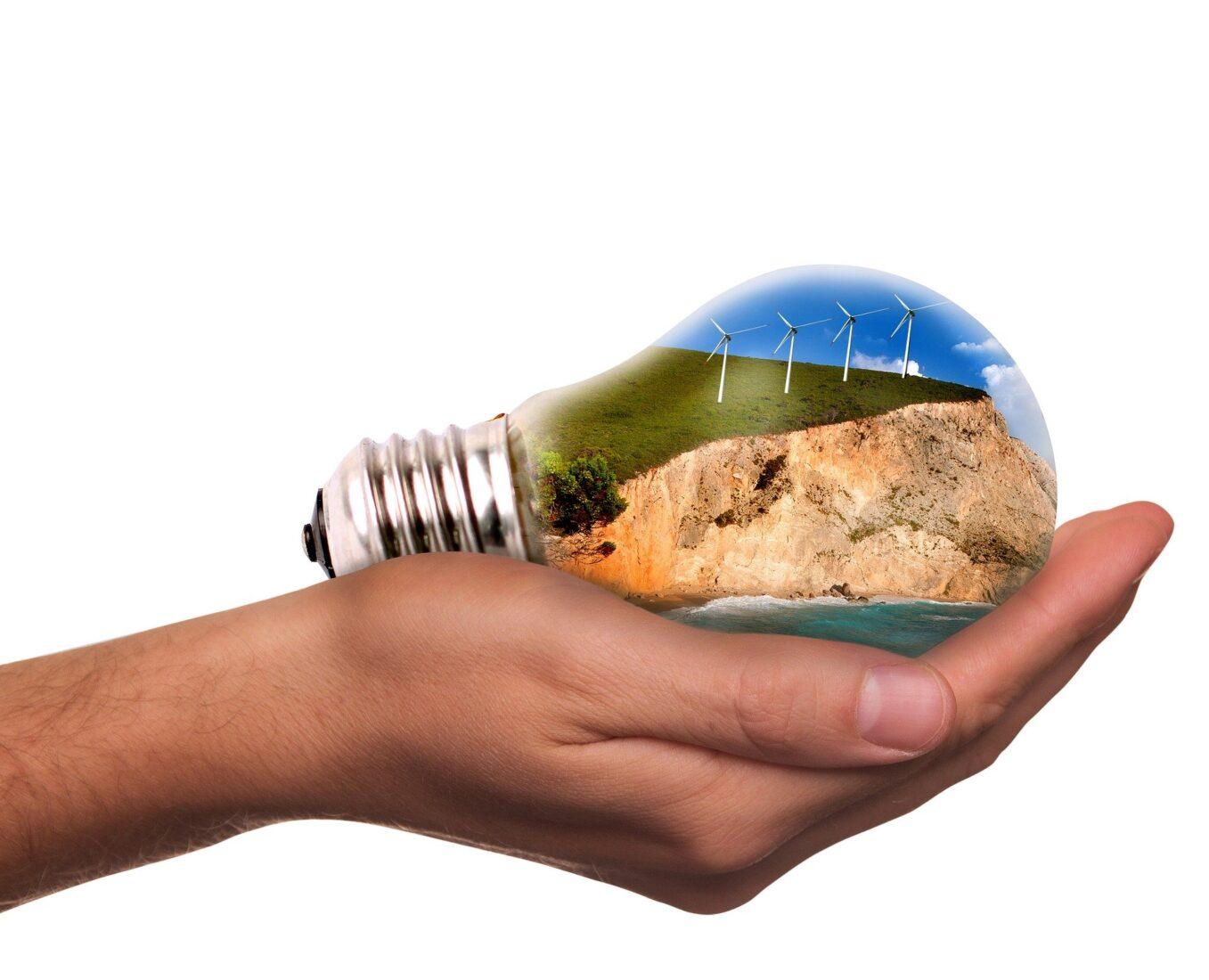 Windkraft & Co.: Über 50 % des deutschen Stroms stammt aus erneuerbaren Quellen. Foto Pixabay