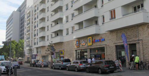 Lyoner Viertel: Der ehemalige Frankfurter Büropark Niederrad ist heute ein durchmischtes Quartier, das auch Wohnraum bietet. Foto: Standort-Initiative Neues Niederrad