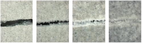 Kristalline Zusatzmittel können zur Selbstheilung bei Rissen im Beton beitragen. Foto: Schomburg