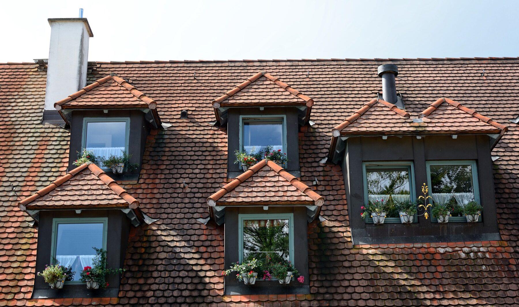 Gauben sorgen für eine optische Aufwertung von Immobilien. Foto: Pixabay