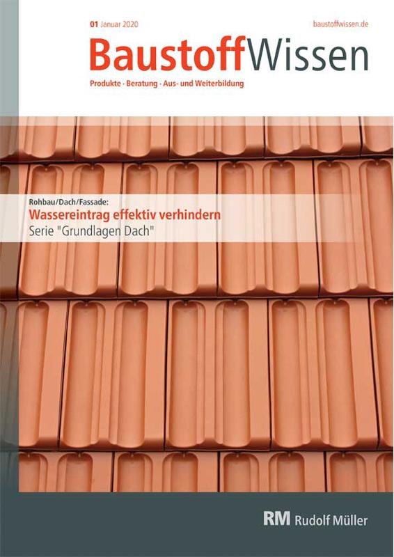 BaustoffWissen Ausgabe 01/2020