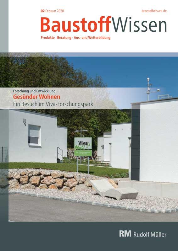 BaustoffWissen Ausgabe 02/2020