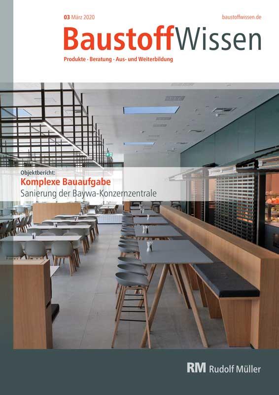 BaustoffWissen Ausgabe 03/2020