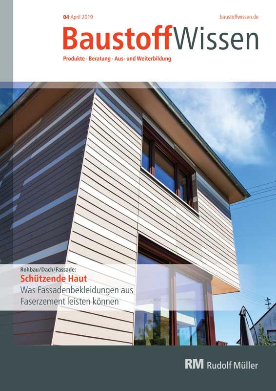BaustoffWissen Ausgabe 04/2019