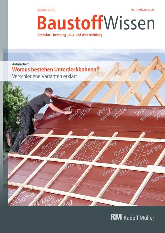 BaustoffWissen Ausgabe 05/2020