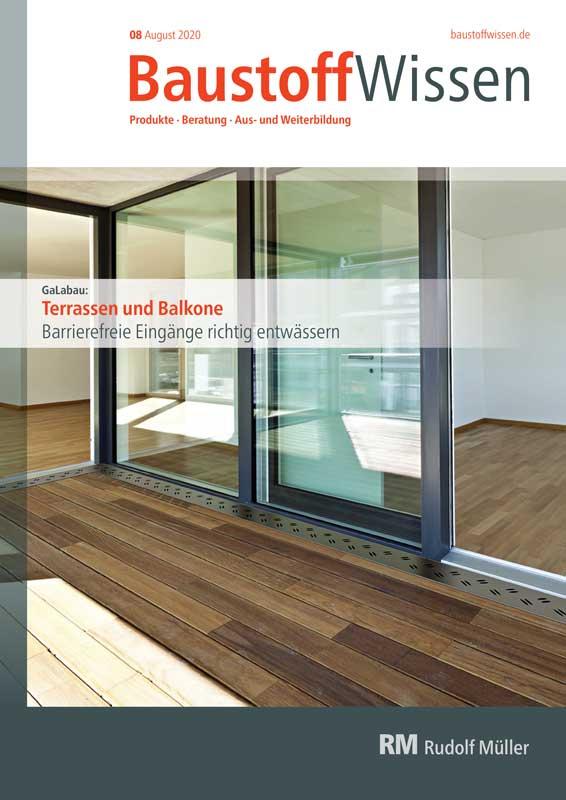 BaustoffWissen Ausgabe 08/2020