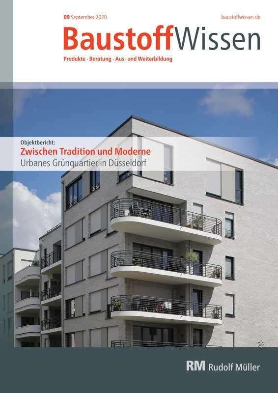 BaustoffWissen Ausgabe 09/2020