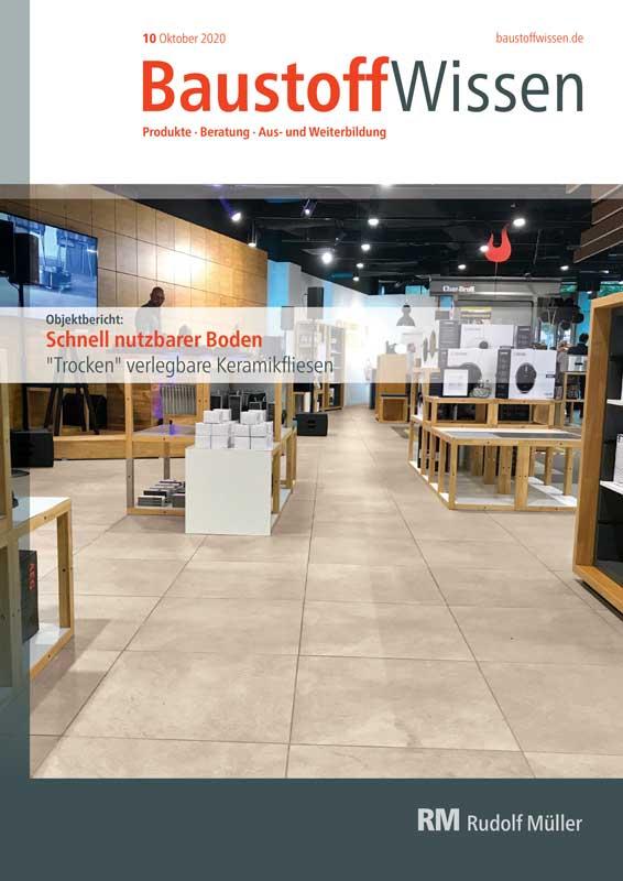 BaustoffWissen Ausgabe 10/2020