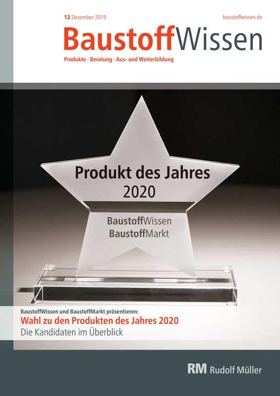 BaustoffWissen Ausgabe 12/2019
