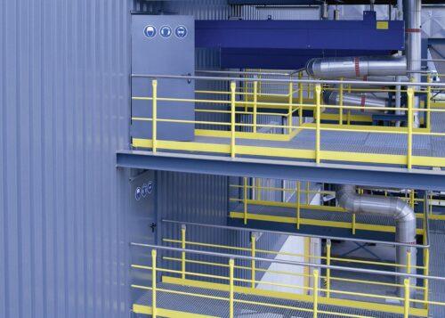 Schallschutztüren aus Stahl kommen häufig in der Industrie zum Einsatz. Foto: Teckentrup GmbH & Co. KG