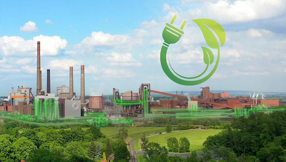 Die Stahlindustrie will Roheisen mithilfe von grünem Wasserstoff herstellen. Foto: Salzgitter AG