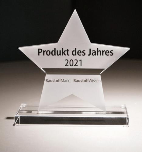 Auszeichnung Produkte des Jahres 2021