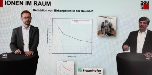 Marketingleiter Sebastian Rettke (l.) und Reiner Schmid (Leitung Produktmanagement) erläuterten die Innovation bei einem Online-Pressegespräch. Foto: Grimm
