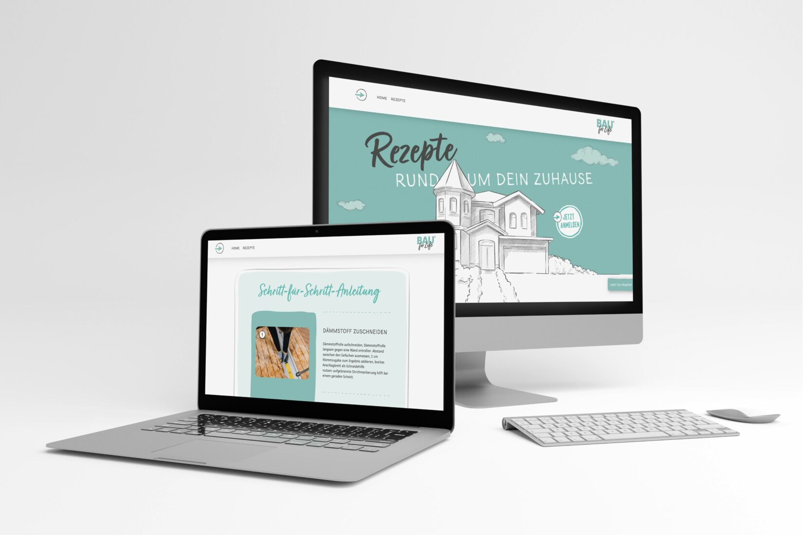 Die Website bietet Tipps und Anleitungen für Privatkunden. Foto: Bauking GmbH