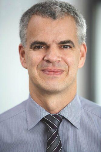 Holger Reviol leitet den Bereich Organisation, der bei der Eurobaustoff unter anderem für die Zentralfakturierung zuständig ist. Foto: Eurobaustoff