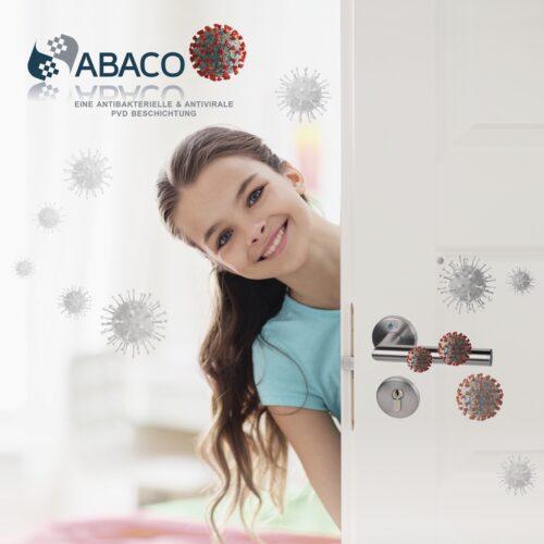 Bei ABACO handelt es sich um eine PVD-Beschichtung mit integrierten Silberionen. Foto: Südmetall