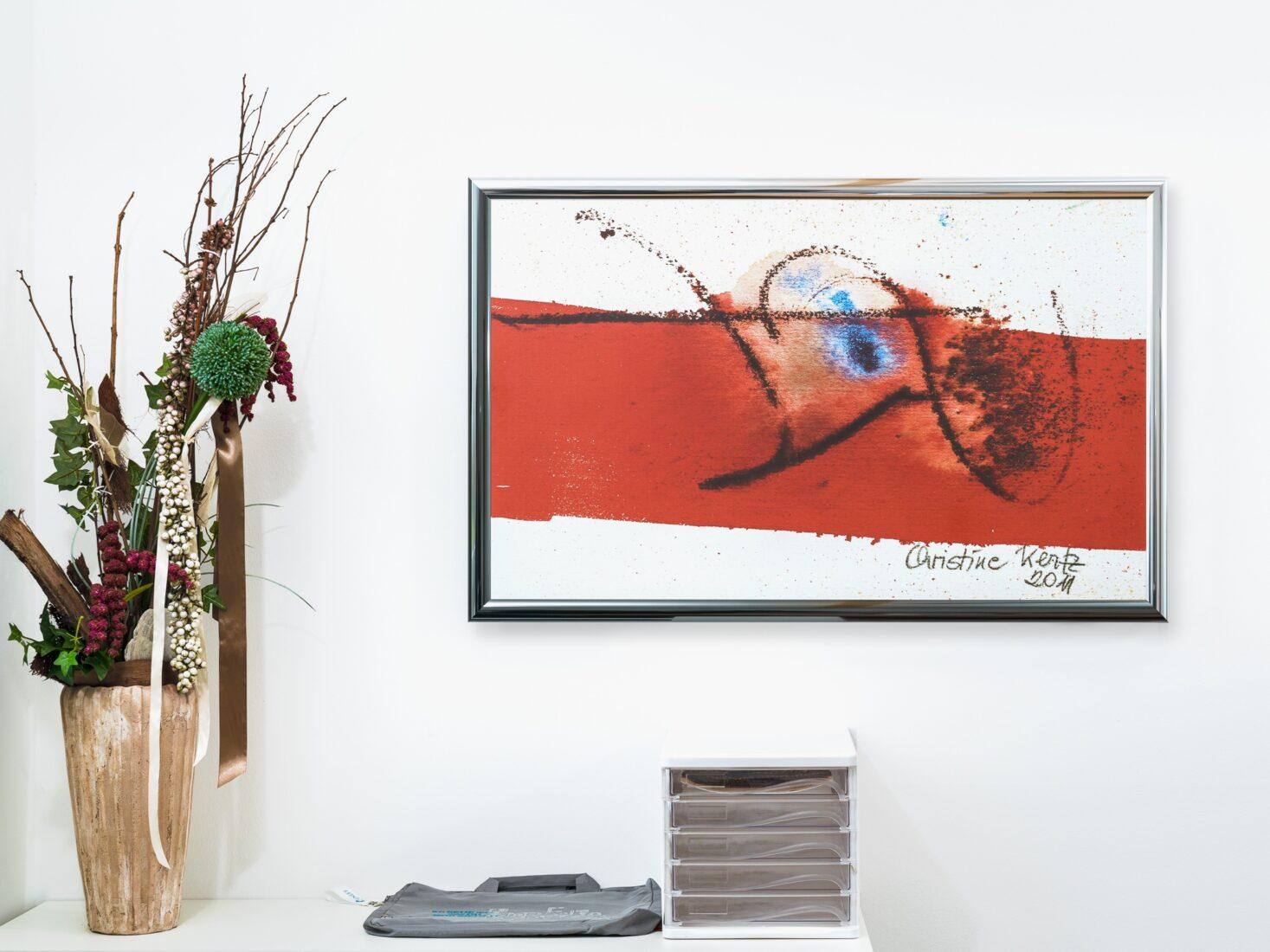 """Doppelnutzen: Es gibt sogar Heizelemente, die als Kunstwerk """"getarnt"""" daherkommen. Foto: www.easy-therm.com"""