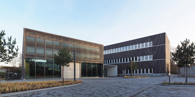 Das ZELUBA wurde nach den Prinzipien einer umweltgerechten Leichtbauweise konstruiert. Foto: Fraunhofer WKI / Manuela Lingnau