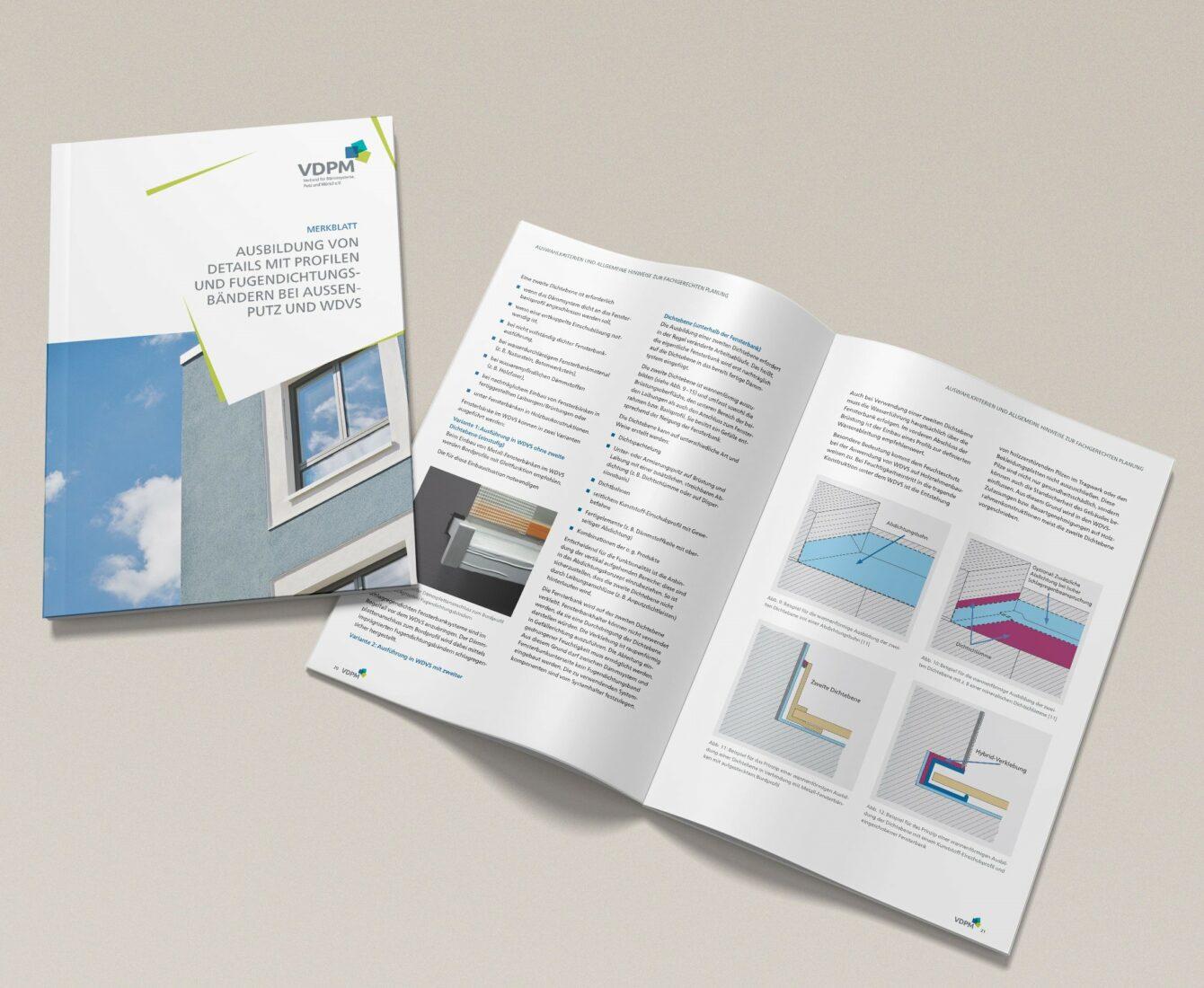 Das Merkblatt steht auf der Website des VDPM zum kostenlosen Download bereit: Abb.: VDPM