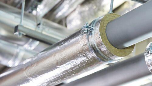 Rohrschale zur Kälteisolierung bei Trink- und Kühlwasserleitungen. Foto: Rockwool