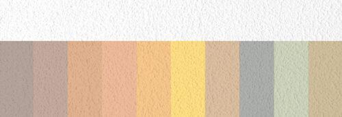 """Die """"Compact Colors"""" von Knauf gibt es in zehn verschiedenen Pastelltönen."""
