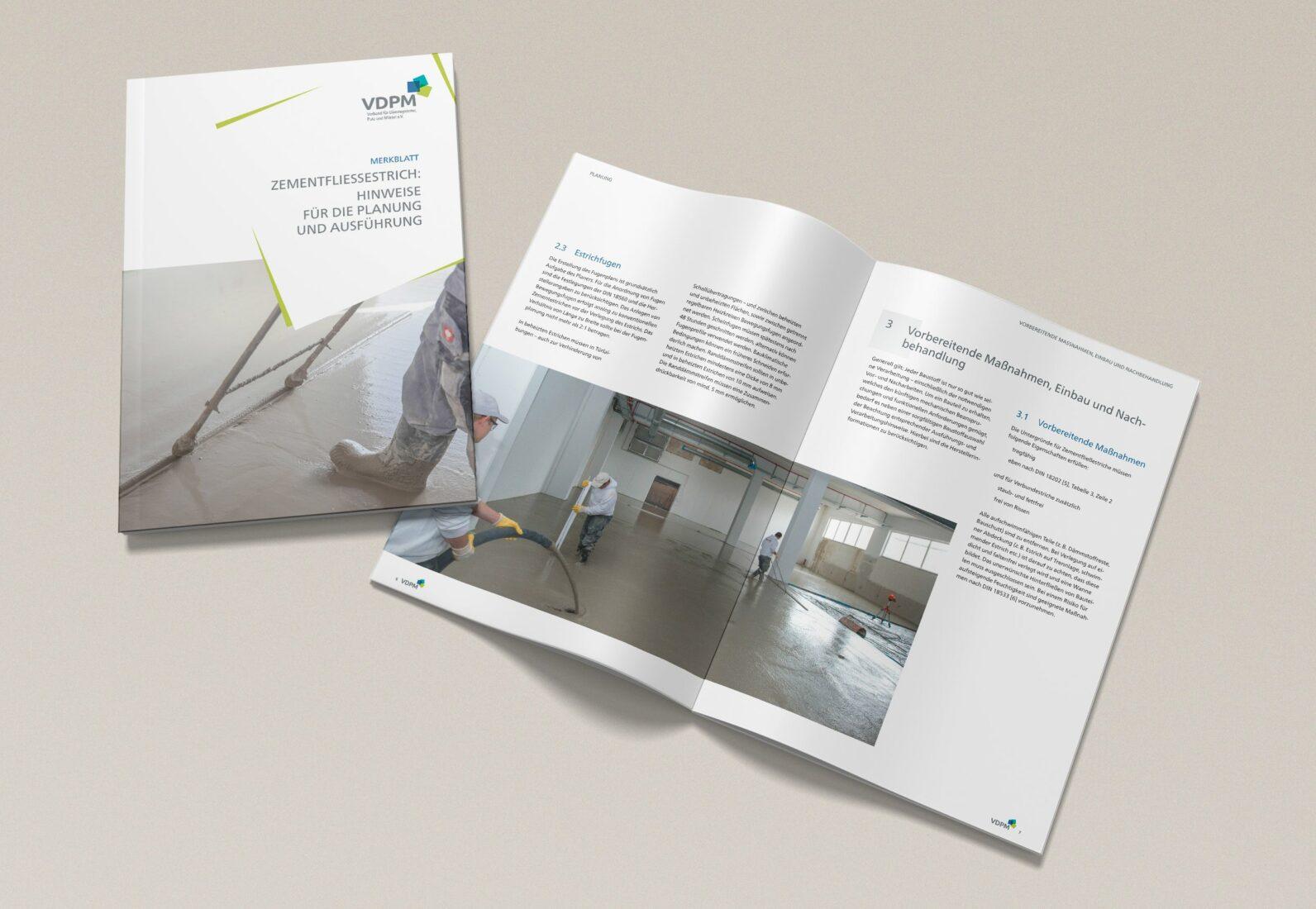 Das 16-seitige Merkblatt kann man unter info@vdpm.info auch als Printausgabe bestellen. Foto: VDPM