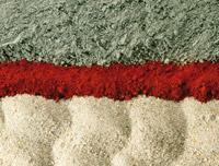 Materialien zur Herstellung von Dachpfannen