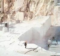 Steinbruch im Raum Carrara (Italien)
