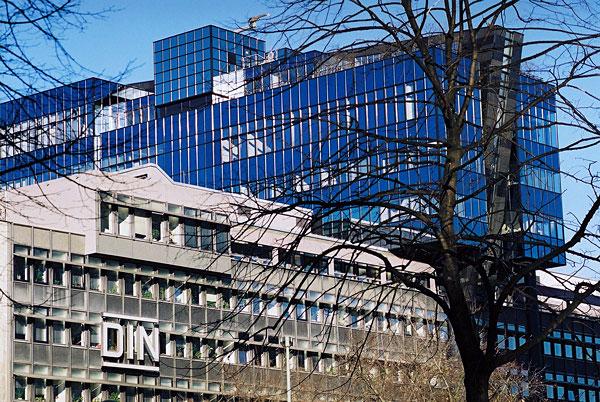 Sitz des Deutschen Institut für Normung (DIN) in Berlin