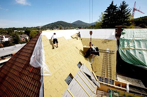Dachsanierung eines Bestandsgebäudes
