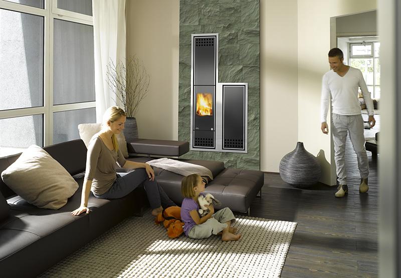 pelletheizung: mehr als ein holzofen › erneuerbare energien, Wohnzimmer