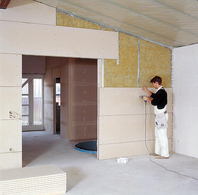 gipsbauplatten der klassiker im trockenen innenausbau