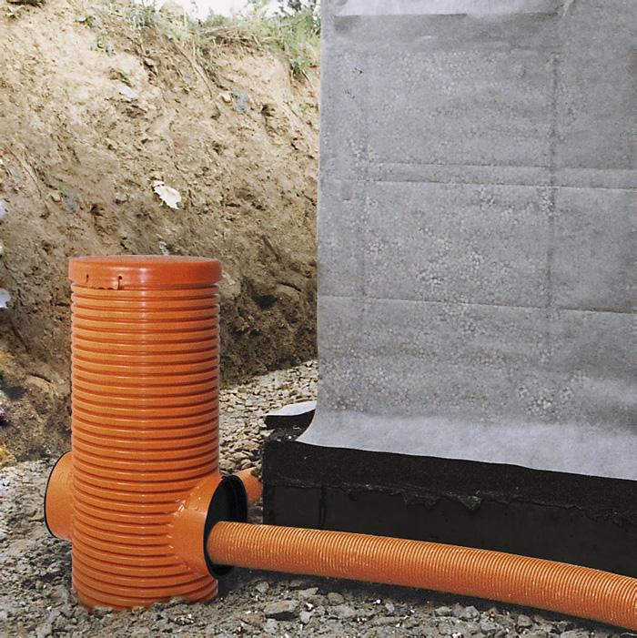 Top Gebäudedrainage: Entwässerung & Abdichtung | Ringdrainage GY42