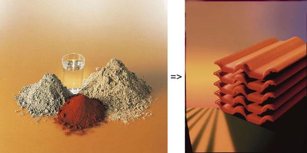 Frankfurter Pfanne - die Zutaten und das fertige Produkt