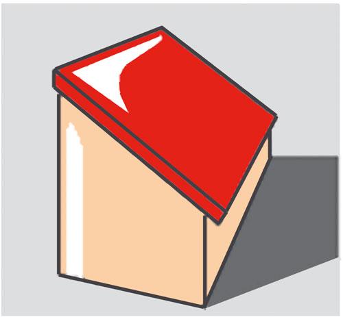 Pultdach (Zeichnung)
