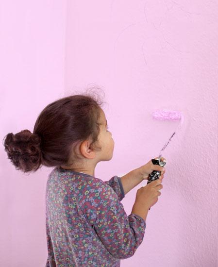 Wandfarben und Wohngesundheit