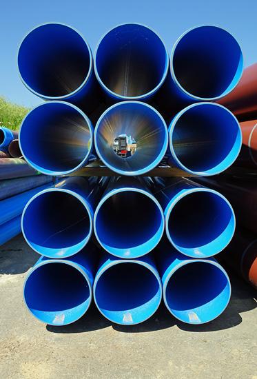 Kunststoffrohre aus Hart-PVC