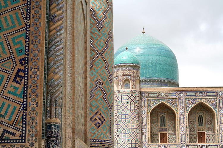 baustoffwissen.de: Islamische Ornamentkunst im usbekischen Samarkand