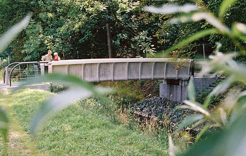 Textilbetonbrücke
